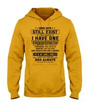 GOOD MEN STILL EXIST Hooded Sweatshirt thumbnail