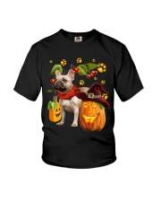 FRENCH BULL HALLOWEEN Youth T-Shirt thumbnail