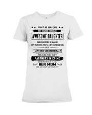 Perfect gifts for Mother- March Premium Fit Ladies Tee thumbnail