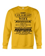 Gift for husband T0 T3-153 Crewneck Sweatshirt thumbnail