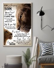 Special canvas for daughter - Ust 11x17 Poster lifestyle-poster-1