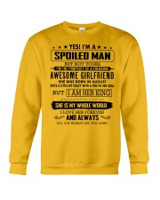 Gift for your boyfriend - Q08 August Crewneck Sweatshirt thumbnail