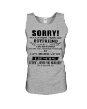 The perfect gift for your girlfriend - D11 Unisex Tank thumbnail