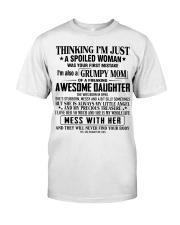 Grumpy mom - T04 April Classic T-Shirt front