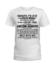 Grumpy mom - T04 April Ladies T-Shirt thumbnail