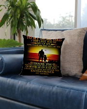 Special gift for Father's Day - Kun pillow Square Pillowcase aos-pillow-square-front-lifestyle-02