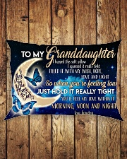 Special gift for your granddaughter -Ust Pillow Rectangular Pillowcase aos-pillow-rectangle-front-lifestyle-2