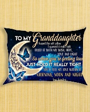 Special gift for your granddaughter -Ust Pillow Rectangular Pillowcase aos-pillow-rectangle-front-lifestyle-6