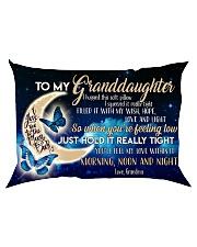 Special gift for your granddaughter -Ust Pillow Rectangular Pillowcase back