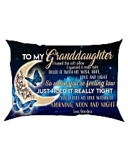 Special gift for your granddaughter -Ust Pillow Rectangular Pillowcase front
