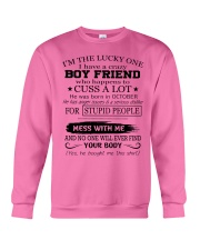 Perfect gifts for Girlfriend - October Crewneck Sweatshirt thumbnail
