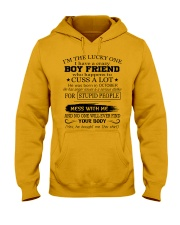 Perfect gifts for Girlfriend - October Hooded Sweatshirt thumbnail