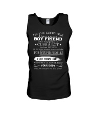I have crazy boyfriend - he has tattoos - Q0 Unisex Tank thumbnail