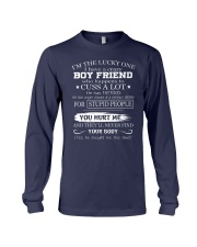 I have crazy boyfriend - he has tattoos - Q0 Long Sleeve Tee thumbnail