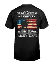 I AM A GRUMPY VETERAN I LOVE MY COUNTRY - JUNE Classic T-Shirt tile