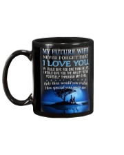 To my Future Wife Mug Mug back