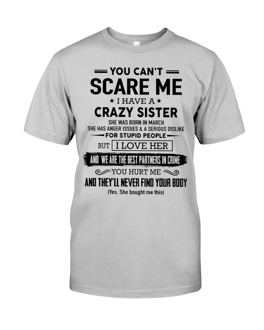 I have a crazy Sister - Kun 03 Classic T-Shirt