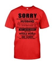 HUSBAND TO WIFE D3 Premium Fit Mens Tee thumbnail