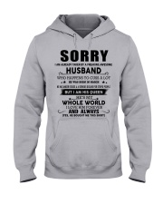 HUSBAND TO WIFE D3 Hooded Sweatshirt front