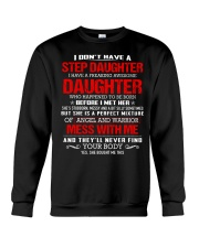 I have a step Dad - Kun Stepdad Crewneck Sweatshirt thumbnail