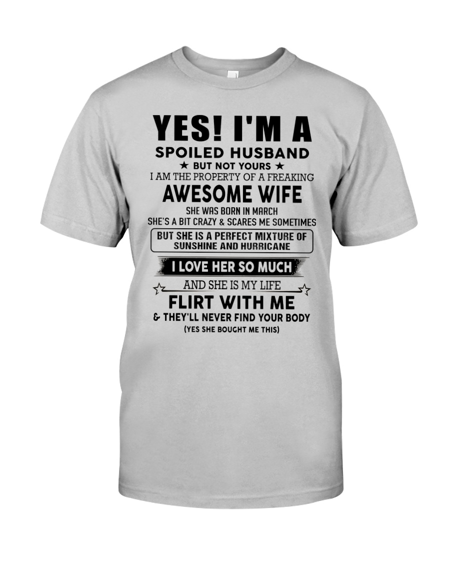 Perfect gift for husband AH03up1 Classic T-Shirt