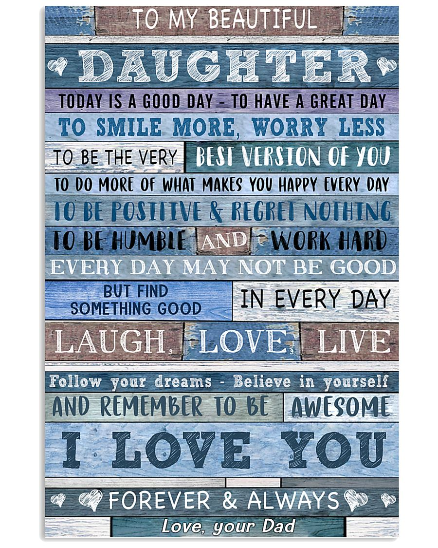 Special gift for daughter - C 220 11x17 Poster