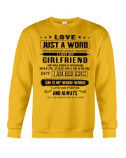 LOVE- GIRLFRIEND - H11 Crewneck Sweatshirt thumbnail