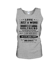 LOVE- GIRLFRIEND - H11 Unisex Tank tile