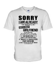 Gift for Boyfriend - girlfriend - TINH05 V-Neck T-Shirt thumbnail