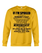 Warning - T0 Crewneck Sweatshirt thumbnail