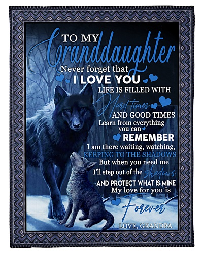 To my granddaughter my love for you is forever S