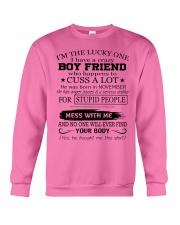 Perfect gifts for Girlfriend - November Crewneck Sweatshirt thumbnail