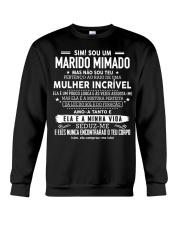 Presente perfeito para o marido AH00 Brazil Crewneck Sweatshirt thumbnail