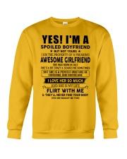 Girlfriend To Boyfriend D7 Crewneck Sweatshirt thumbnail
