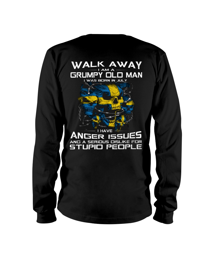 PERFECT GIFT FOR SWEDEN OLD MAN - JULY Long Sleeve Tee