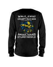 PERFECT GIFT FOR SWEDEN OLD MAN - JULY Long Sleeve Tee back