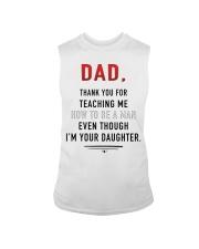 Dad - Thank You For Teaching Me Sleeveless Tee thumbnail