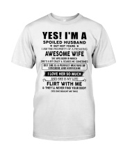Perfect gift for husband AH03 Classic T-Shirt tile