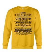 Gift for boyfriend T09 September T3-153 Crewneck Sweatshirt thumbnail