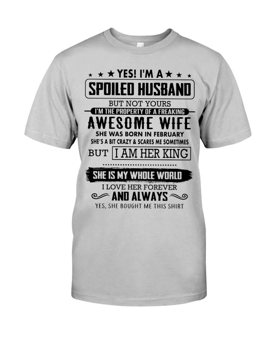 Gifts for Husband- February Classic T-Shirt