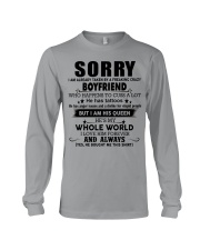 The perfect gift for your girlfriend - D tattoos Long Sleeve Tee thumbnail