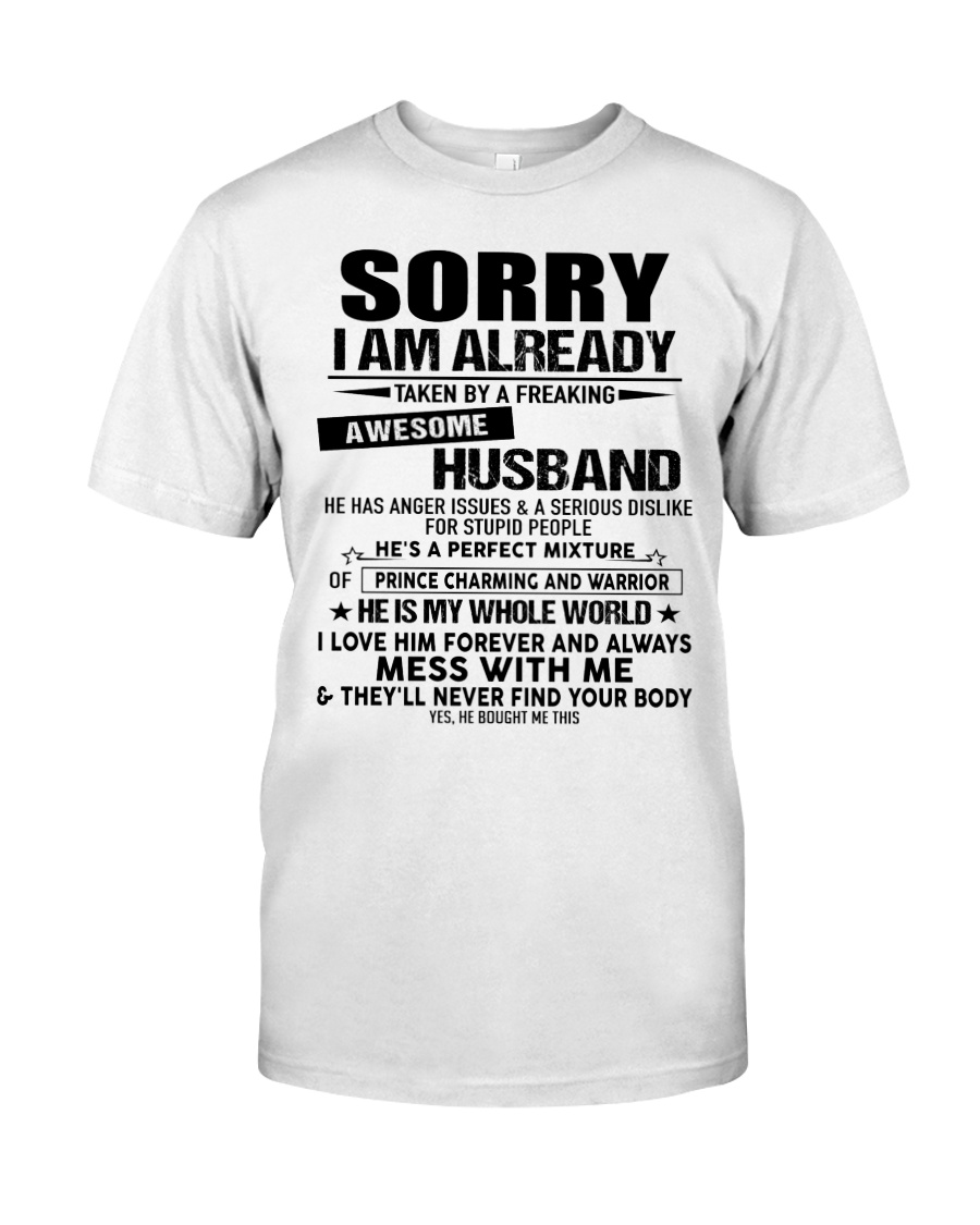 The perfect gift for your wife - A00 Classic T-Shirt