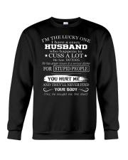 Gift for wife - Husband has tattoos Crewneck Sweatshirt thumbnail