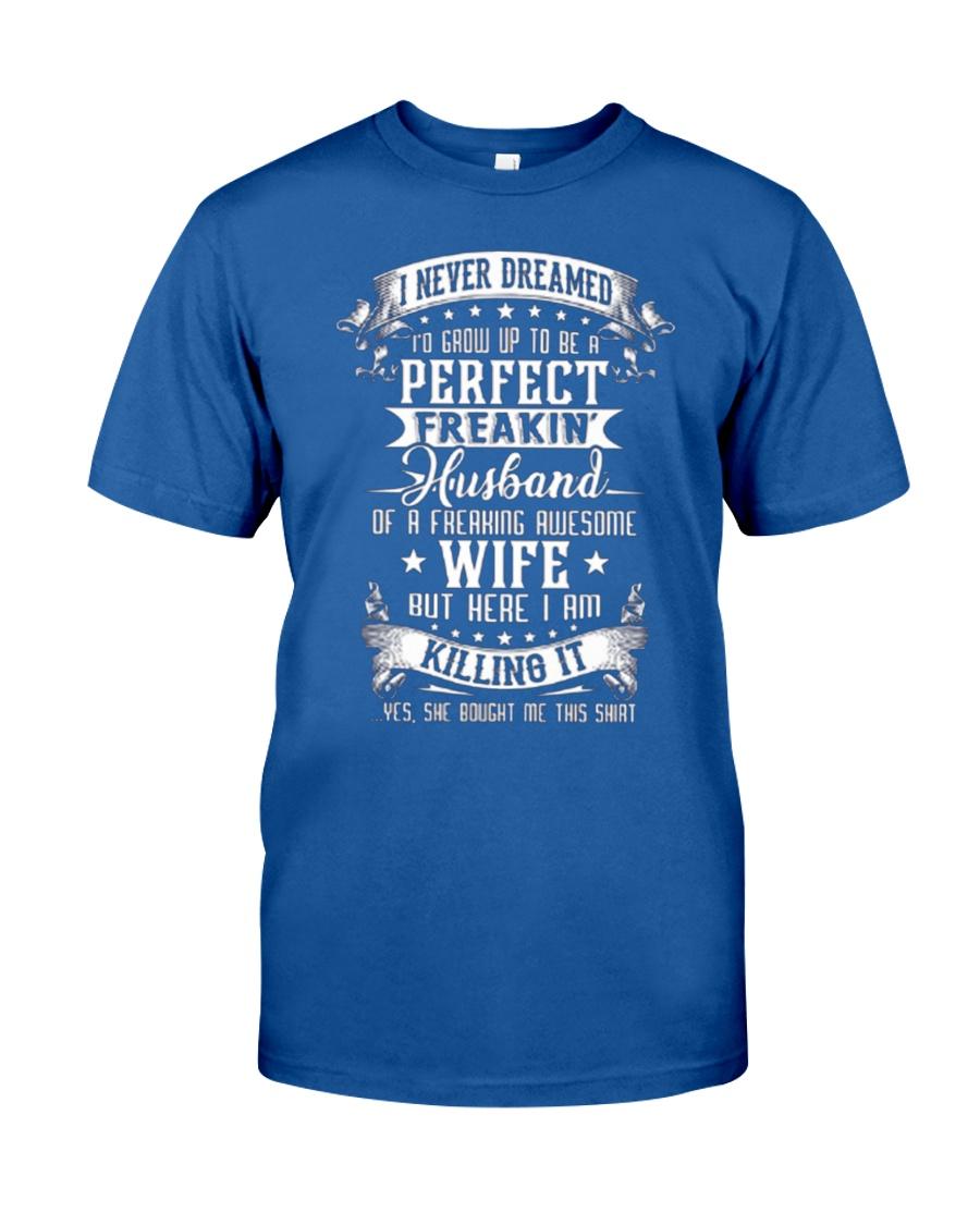 HUSBAND WIFE - FULL COLOR Classic T-Shirt