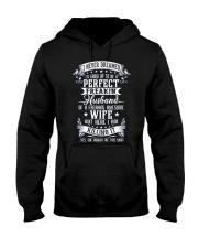 HUSBAND WIFE - FULL COLOR Hooded Sweatshirt thumbnail