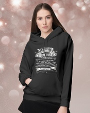 Awesome Husband - T02 Wife Hooded Sweatshirt lifestyle-holiday-hoodie-front-1