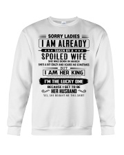 Perfect gifts for Husband- March Crewneck Sweatshirt thumbnail