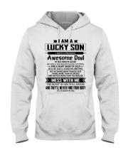 pecial gift for son AH08 Hooded Sweatshirt thumbnail