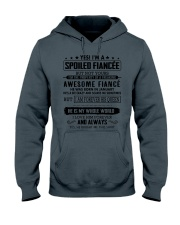 Gift for your Fiancee - Spoiled Fiancee - JANUARY Hooded Sweatshirt thumbnail