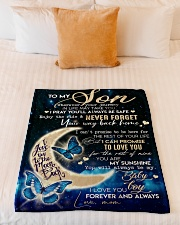 """Special gift for son Small Fleece Blanket - 30"""" x 40"""" aos-coral-fleece-blanket-30x40-lifestyle-front-04"""